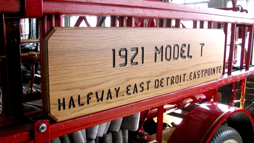 piquette model t firetruck