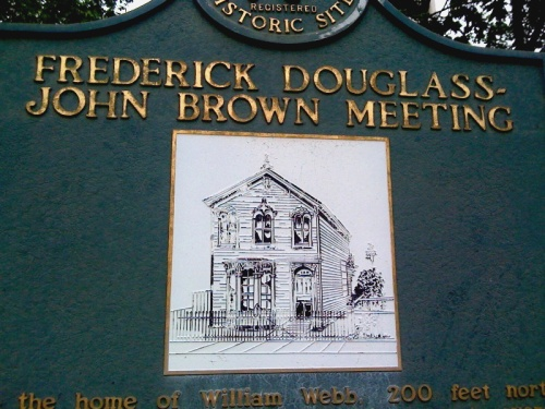 1859 : Frederick Douglass and John Brown Meet With Detroit Abolitionists