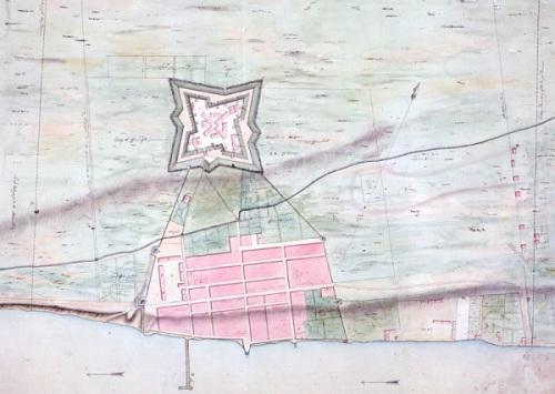 plan of fort detroit-detail