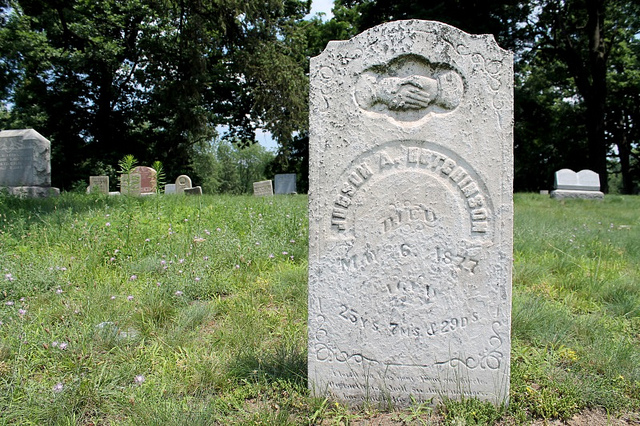Judson A. Betchinson, died 1877.